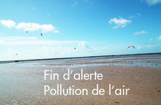 Fin de l'alerte orange sur la pollution atmosphérique