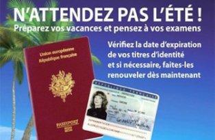 Pièces d'identité : anticipez les formalités avant l'été !