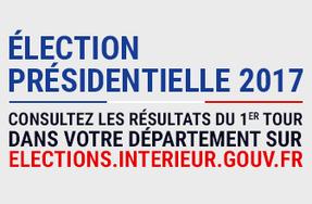 Election Présidentielle 2017 - Résultats / Résultats / 1er TOUR ...